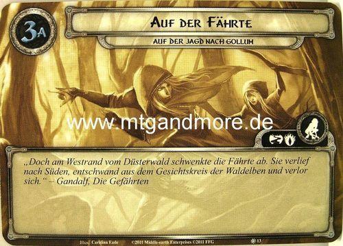 Lord of the Rings LCG 1x Auf der Fährte  #013