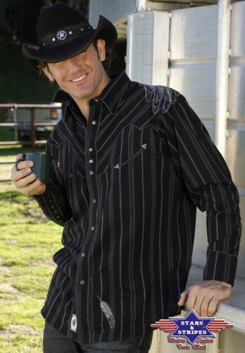 amp; Bianco Ref Western Camicie Paese Stripes Aquila Stars Promo w6axg4