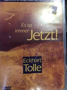 TOLLE-ECKHART-ECKHART-TOLLE-ES-IST-IMMER-JETZT-GERMAN-I-UK-IMPORT-DVD-NEW