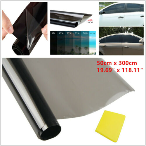 50CM 35/% Vehicle Window Tint Solar Film Car Explosion Proof Heat Membrane Darken
