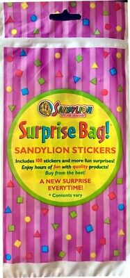 Vtg Sandylion Sticker Disney Random Mod Lot Surprise Bag 8+1 Bonus extra!