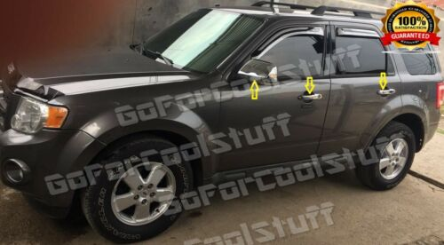 Door Handle Cover For Mazda Tribute 08-10 Chrome Mirror Cover