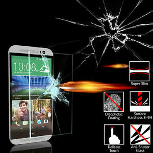 Tempered-Glass-Screen-Protector-Film-fr-HTC-10-Desire-530-628-825-ONE-X9