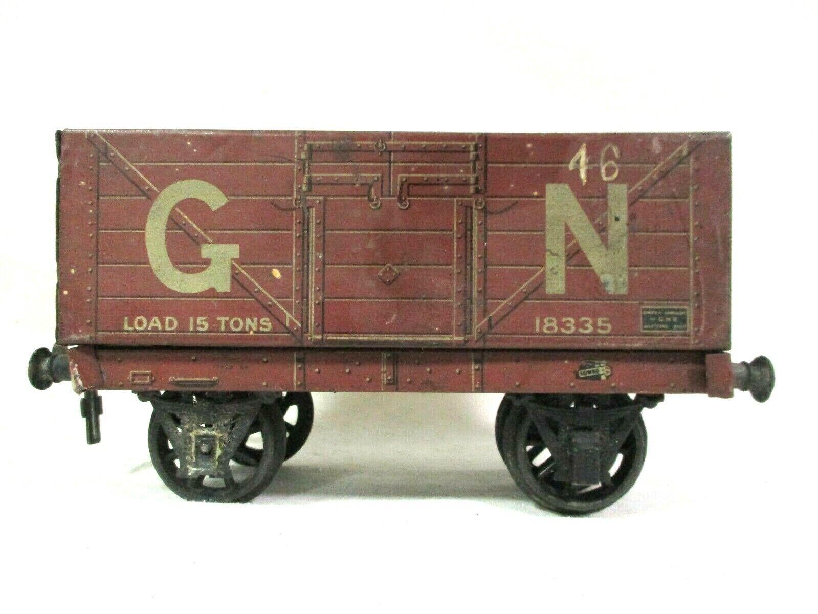 Bassett Lowke 18335 GN 1 Gauge 15 Ton Load Wagon Model Railway Freight B63-2