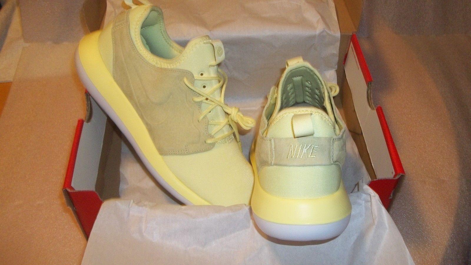 Nike roshe due br uomini  giallo (lemon chiffon) alla new moda & a brand new alla a63bab