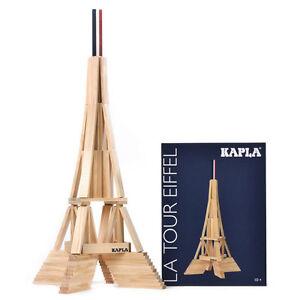 Kapla Eiffelturm Box Pinienholz Bausteine NEU!   #