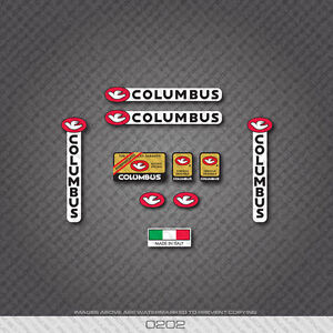 Decals 0128 Columbus Brain Custom Bicycle Stickers