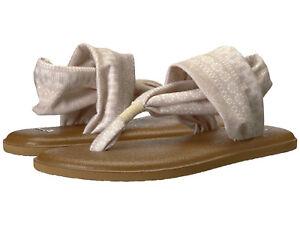 bbe28ba7f362 Women Sanuk Yoga Sling 2 Prints Flip Flop Sandal 1019795 Natural ...