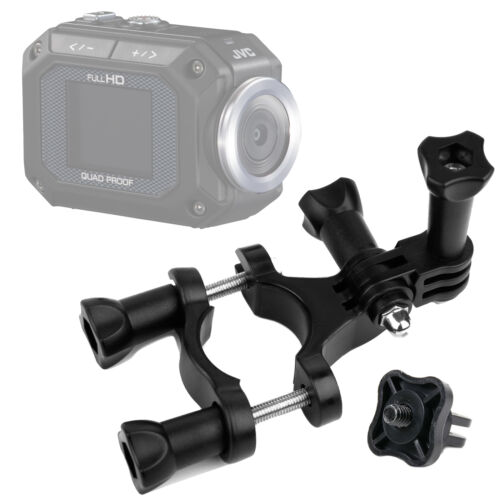 Adaptador Para Jvc Gc-xa1 gc-xa2 Adixxion Totalmente Ajustable handlebar//post Mount