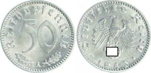 Tercer Imperio 50 Peniques 1943A Vz-St (2) 30109