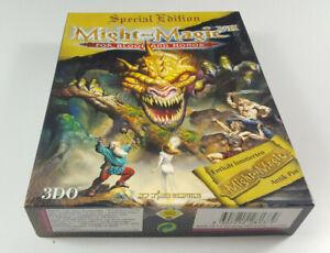 Might-amp-Magic-VII-Special-Edition-inkl-Antik-Pin-PC-Big-Box-OVP-CIB-dt-Ver-VGC