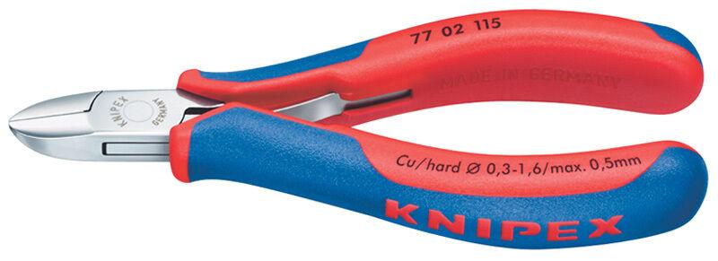 Genuine DRAPER Knipex 130mm Bevelled Electronics Diagonal Cutters | 27724