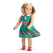 American Girl KIT'S MEET OUTFIT NEW 2014--- (DOLL NOT INCLUDED) Dress Sandal NEW