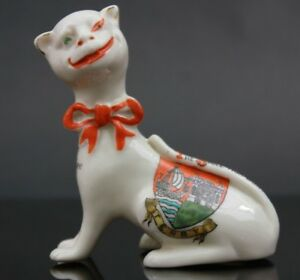 Vintage-Crested-Ware-Arcadian-Tenby-Cheshire-Cat-The-smile-that-won-t-come-off