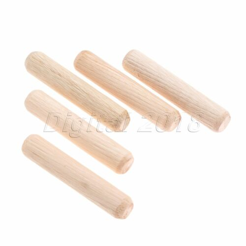 1 Set Cabinets Furniture Wooden Rods Fluted Grooved Glue Wood Round Dowel Pin