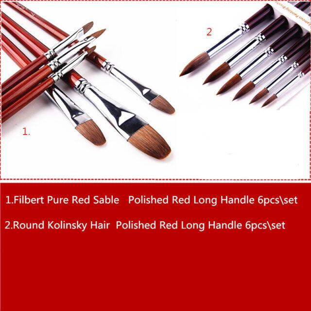 Escoda Size 12 Prado Series 1468 Synthetic Sable Paint Brush Travel Brush