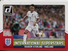 DONRUSS Soccer 2015 int Superstars Chase Card #42 Raheem Sterling