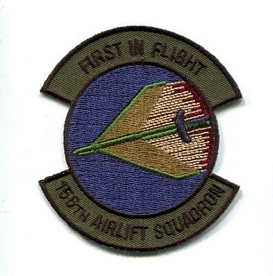 156th AS AIRLIFT SQUADRON USAF  LOCKHEED C-130 HERCULES Jacket Patch