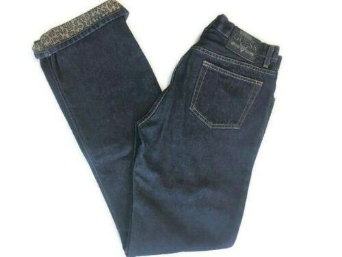 Vintage GUESS 056 Cuffed Low Rider Women's Jeans W
