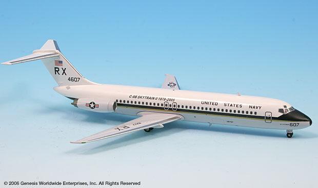 Inflight 200 US Navy Marine C-9B RX 4607 Douglas Skytrain DC-9-32 échelle 1 200 Diecast