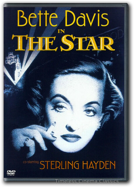 The Star DVD New Bette Davis, Sterling Hayden, Natalie Wood, Warner Anderson