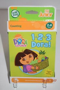 LeapFrog-Tag-Junior-1-2-3-DORA-works-LeapReader-Junior-Age-2-NEW
