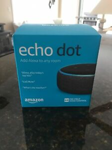 Amazon-Echo-Dot-3rd-Generation-Smart-Speaker-with-Alexa-Black-gray