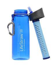 LIFESTRAW GO WATER BOTTLE Portable FILTER Purification Purifier Survival Gear