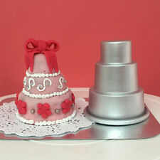 Mini 3-Tier Cupcake Pudding Chocolate Cake Mold Baking Pan DIY Mould Craft