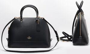 Coach-Bag-F37218-Sierra-Satchel-in-Crossgrain-Leather-Black-Agsbeagle-COD-Paypal