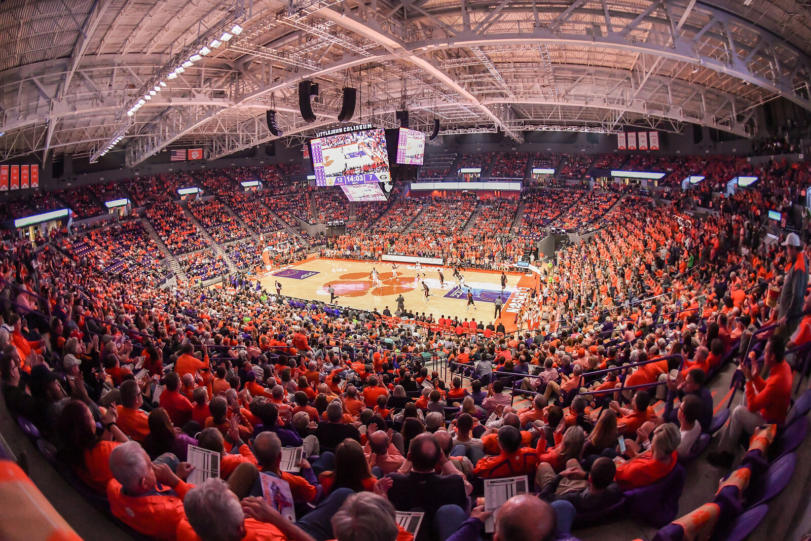 Pittsburgh Panthers at Clemson Tigers Basketball