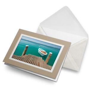 Greetings-Card-Biege-Lake-Garda-Italy-Italian-3410