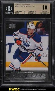 2015-Upper-Deck-Young-Guns-Connor-McDavid-ROOKIE-RC-201-BGS-10-PRISTINE