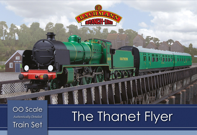 Bachmann 30-165 The Thanet Flyer OO 1 76 Scale Train Train Train Set (Hornby Compatible) b8f406