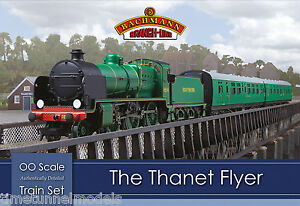 Bachmann-30-165-The-Thanet-Flyer-OO-1-76-Scale-Train-Set-Hornby-Compatible