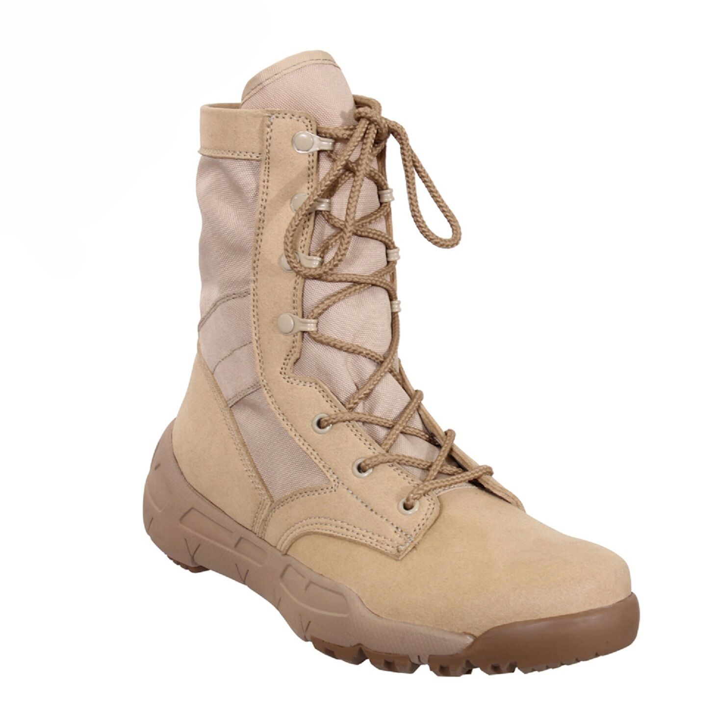 DESERT TAN 8.5  Lightweight V-MAX Tactical BOOTS Athletic shoes Army Navy USMC