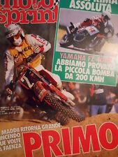Motosprint 17 1985 Test Yamaha FZ 400R - Maddii ritorna grande [SC.31]