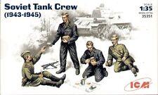 ICM 1/35 WWII Soviet Tank Crew 1943-45 # 35351
