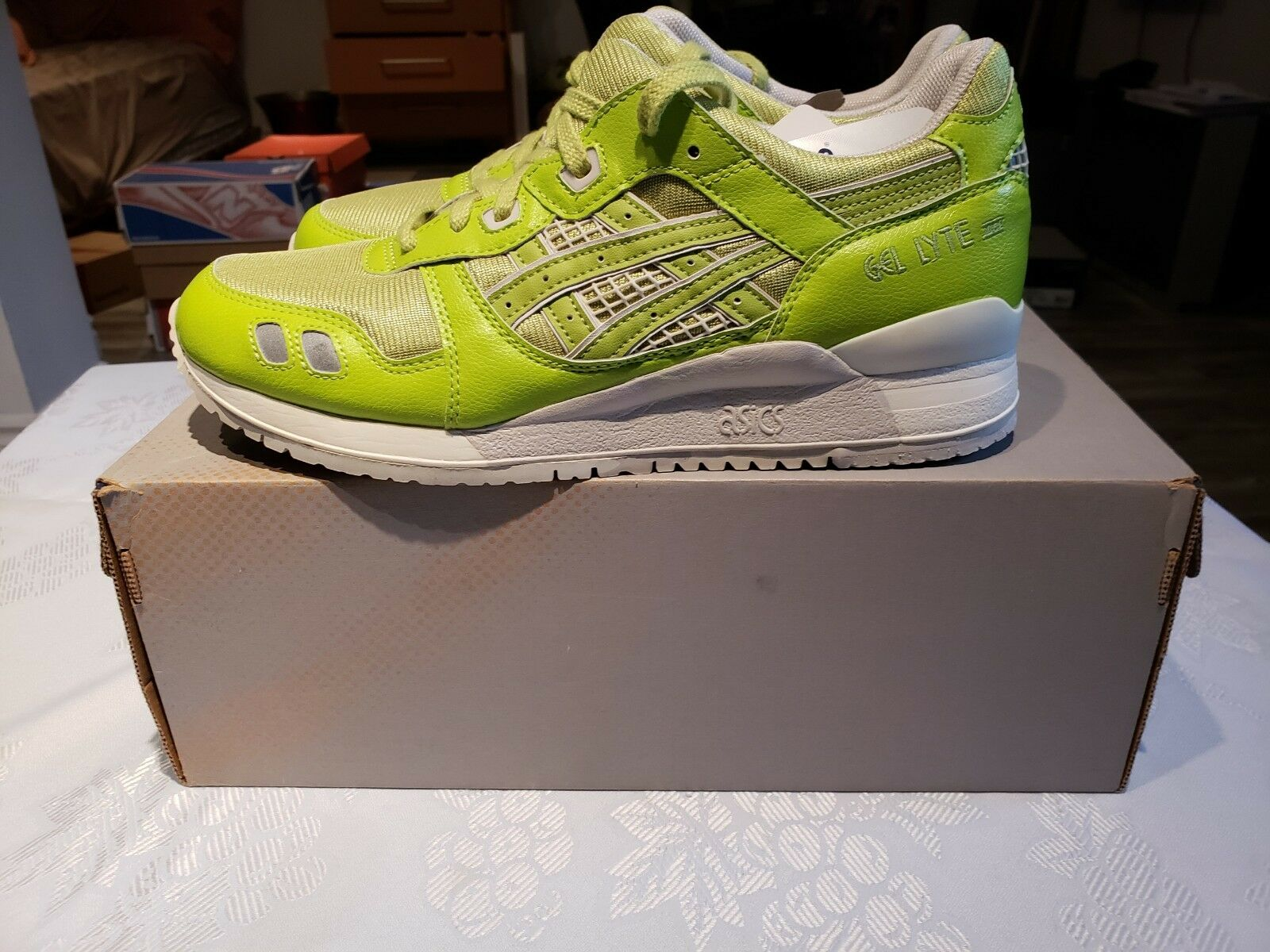 Asics gel lite  TQA224 8.5 green RARE  up to 42% off