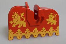 LEGO® Ritter Pferdedecke Horse Barding 2490px3 rot 6081 1584 6060 6039 Burg