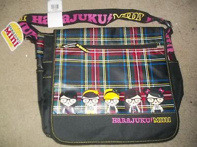 Harajuku mini Messenger bag New with tags Multiple compartments school bag
