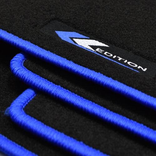 10//1998-04//2001 Tappetini professionisti in Velour tappetini EDITION BLU PER VW LUPO A partire da BJ