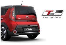 TUON Logo Decal Sticker 1Set-4ea For Kia Rio, Soul, Optima Cadenza Sportage ECT