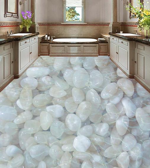 3D Weißer Stein 6 Fototapeten Wandbild Fototapete Tapete Familie DE Lemon