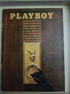 Playboy-May-1962-GOOD-CONDITION-Free-Shipping-USA