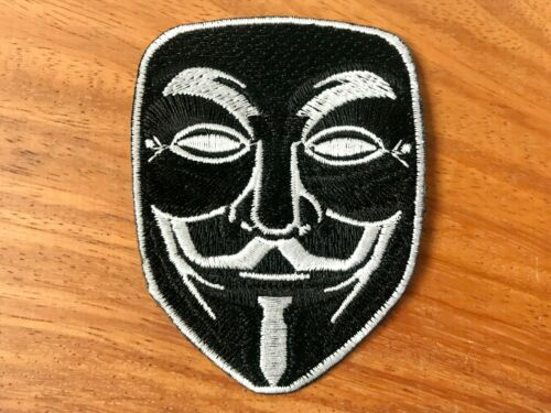 Music Rock n Roll Zombie Sport Mask Logo Biker Sew Iron On Patch Embroidered