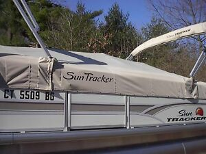 suntracker boat cover p n 305708 signature party barge 20 charcoal
