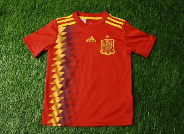 Contaminar trapo Dardos  Iago Aspas Spain Kids Jersey Large 2019 Home Shirt BR2713 adidas Ig93 for  sale online | eBay