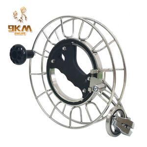 24CM-Kite-Reel-Winder-Silent-Stainless-Steel-Ball-Bearing-Lockable-Outdoor-Tool