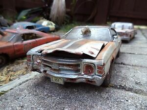 Image Is Loading 1971 Chevy Chevelle SS 454 Unrestored Junker Rust